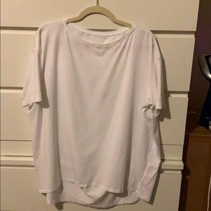 Lululemon Short Sleeve Back In Action Shirt